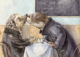 Sherlock - Ottery Kisses