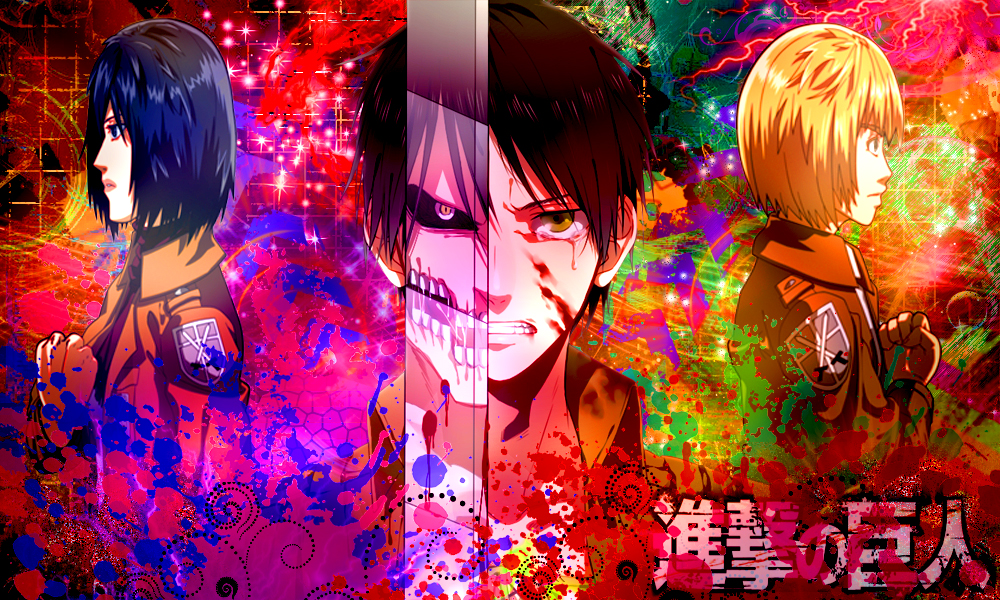Attack On Titan Wallpaper Color Abstract By Otakuonepiece On Deviantart