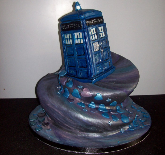 Doctor Who Cake 3 By Percytehsass On Deviantart