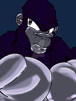 My own version of Gorilla Grodd
