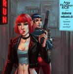 Girls with Guns (Shadowrun)