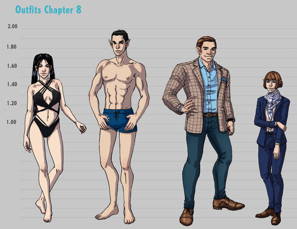 Outfit Concept - Chapter 08 by Seattle2064