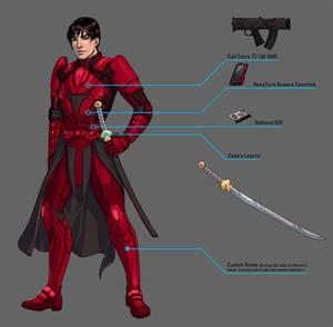 Ashton Richter - Street Samurai