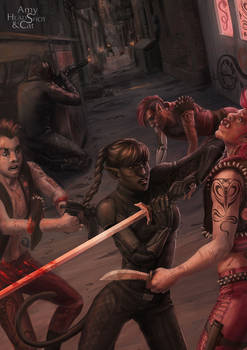 Shadowrun - Alley Fight
