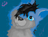Ohhai :3 new character wolf by Juraco