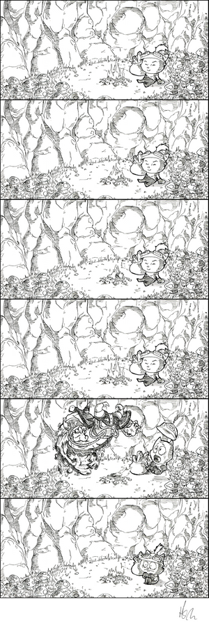 A Comic About Teemo