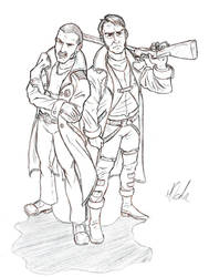 Cliff Donovan and Rex Wingo