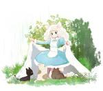 White Field by omiomikekyu