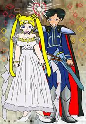 Prince  and princess by SwordTiger8888