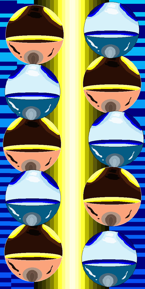 MS PAINT FUN SPHERES by TanithLipsky
