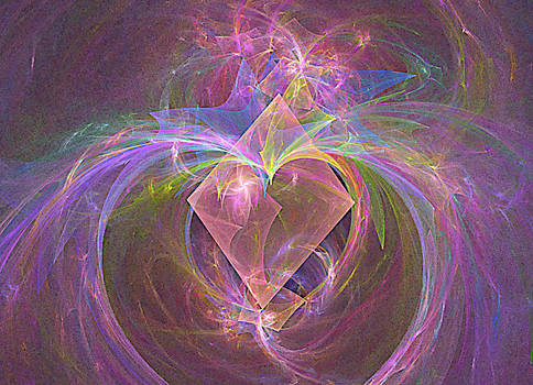 super heart powers diamond fractal