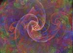 fractals bg spirals fun