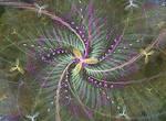 spiral of plants fractal stock fractal