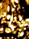 gold sparkle bokeh