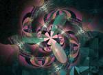 pie spiral  gewyufgiy fractal stock