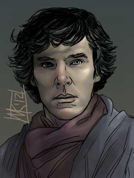 Sherlock BBC by semie