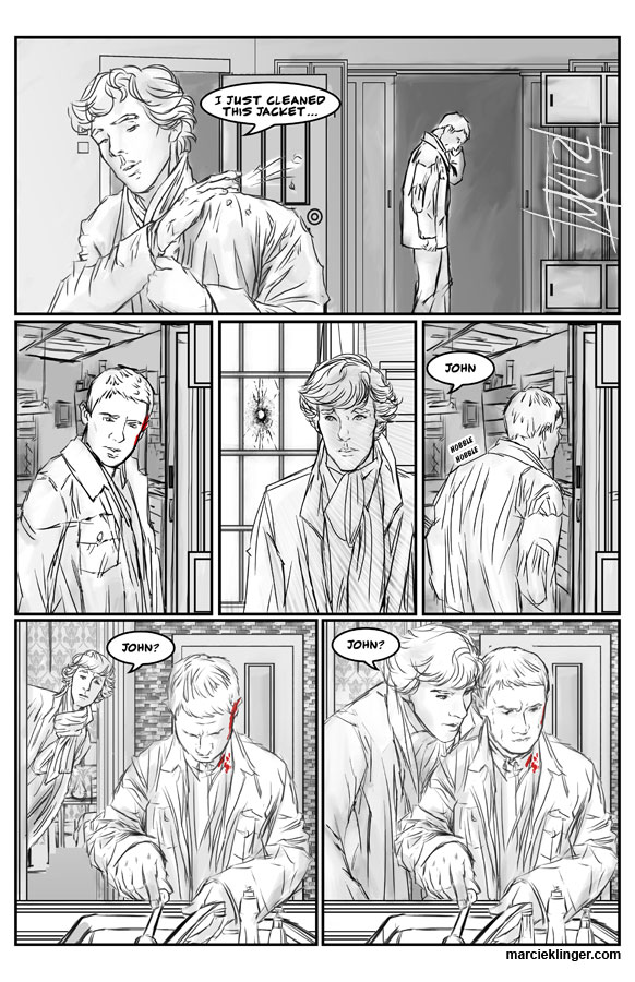 Sherlock Comic Page 13 by semie