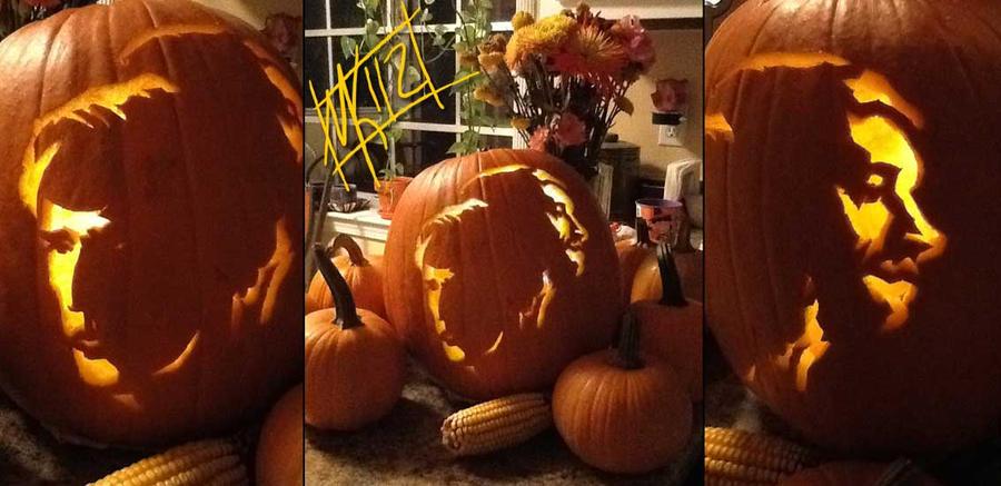 2012 Sherlock Watson Pumpkin by semie