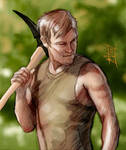 Daryl Dixon from The Walking Dead