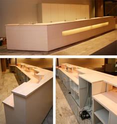 Touristagency - reception desk by Myana
