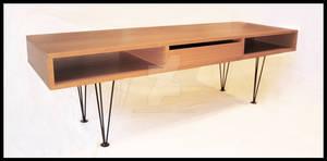 Sofa-table in oak