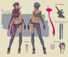 Iris Concept by splatpixel