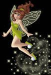 + JANE as TINKERBELL + by Opal-I