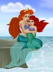 .: 3. Athena + Ariel :.