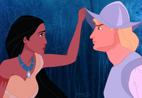 Pocahontas + John Smith
