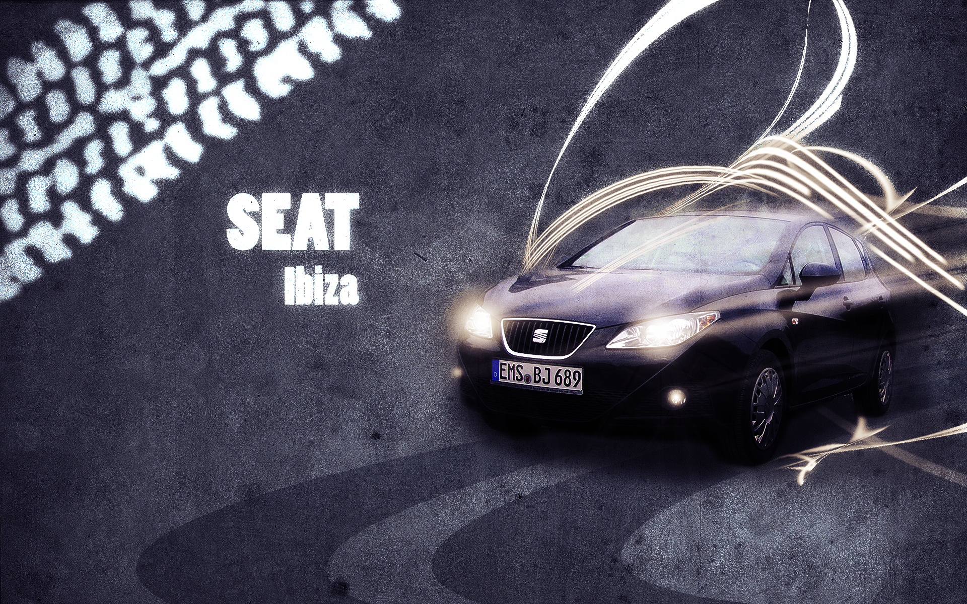 Seat Ibiza 6j - Wallpaper