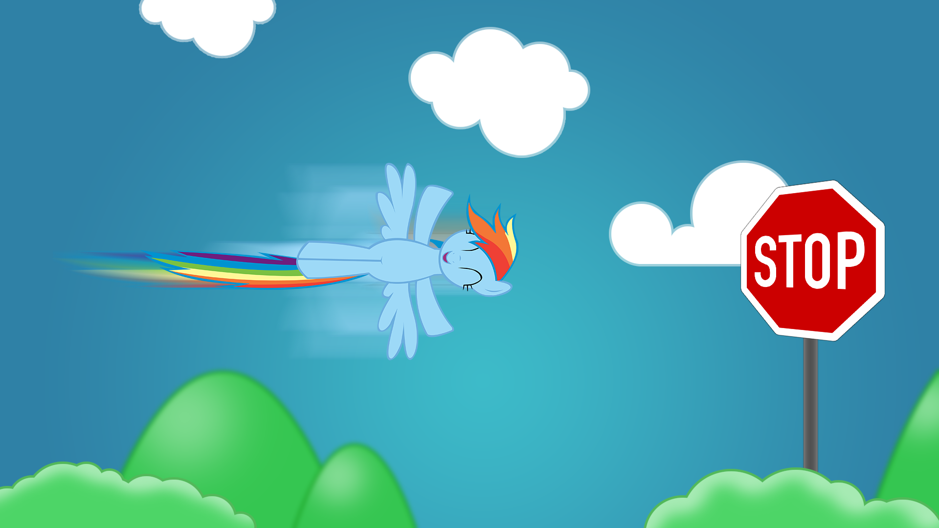 Rainbow Dash - Foresight, we know what will happen