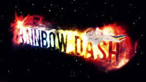 Rainbow Dash Chilling - 4k Wallpaper