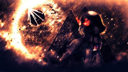 Darth Vader: The Cybernetic Pony - 4k Wallpaper