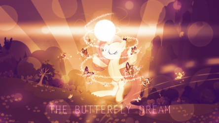 Fluttershy: The Butterfly Dream - 4k Wallpaper