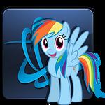 Battle.net Launcher Icon - Rainbow Dash