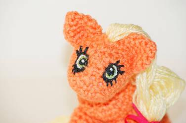 My little pony AppleJack by Marsulu