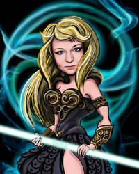 Anna - warrior princess by Marsulu