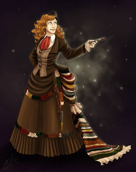Commission- Victorian Dr. Who