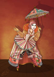 Commission- Steampunk Clown