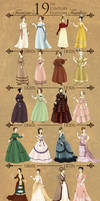 19th Century Fashion Timeline
