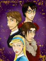 Triwizard Champions by Terrizae