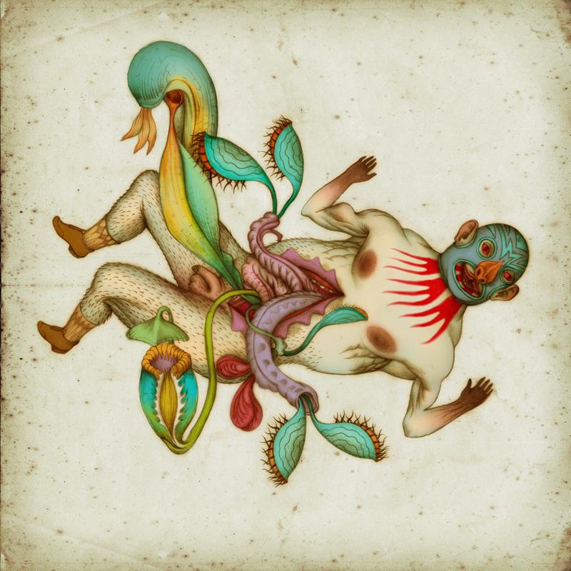 dios murcielago by Atanasio