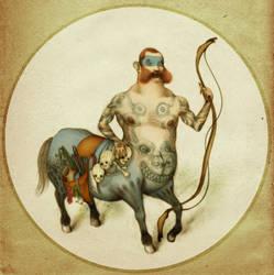 centauro antropofago by Atanasio