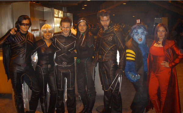 X MEN group in MEXICO by Kryptoniano