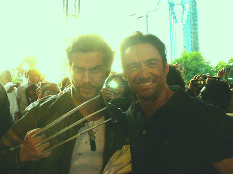 Jackman and Wolverine