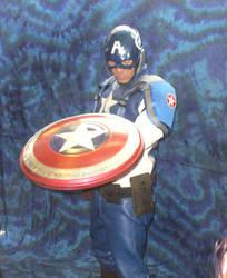 Captain America cosplay 2 by Kryptoniano