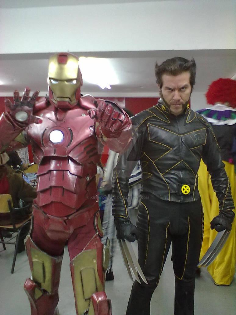Wolverine Iron Man
