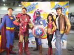 Heroes in cosplay