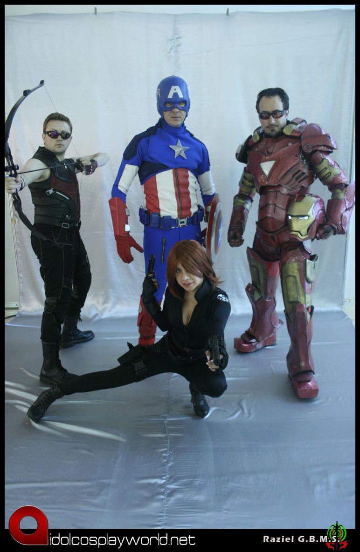 Avengers cosplay La Mole2