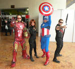 More Avengers Cosplay